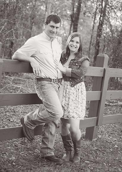 ENGAGED: Sieara Griffin and Travis McCann