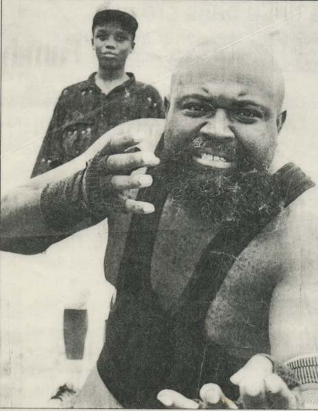 THE BLACK ASSASSIN RETURNS: Rev. Adren Bivins, a retired professional wrestler who now runs the Laymen Brotherhood Second Chance Outreach Ministry, will return to the ring for one match only as part of a charity pro wrestling event to be held in Donalsonville on Saturday, April 6.