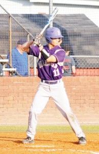 Bainbridge's Ben Day had three hits and an RBI in the Bearcats' Game 1 loss at Lee County on Friday.|Jeff Findley