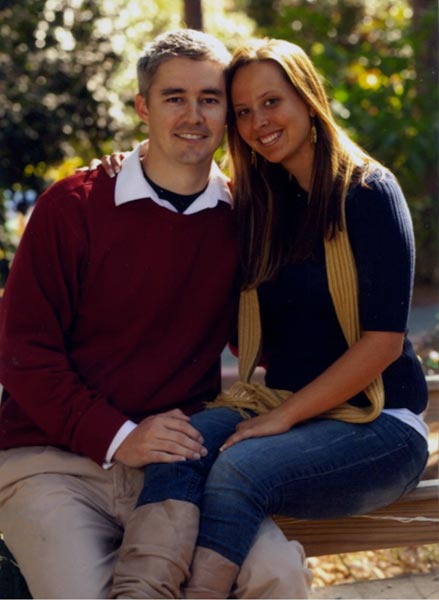 ENGAGED: Christina Pelletier and Brandon McCarty