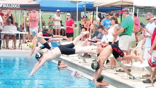 Alex Shanks Swim Meet