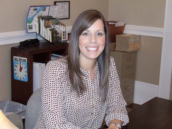Shyla Deen, new executive assistant at the Chamber of Commerce.