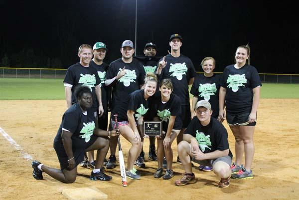 Cherokee Equipment's team won the 2013 Co-Ed Softball League organized by Bainbridge Leisure Services.
